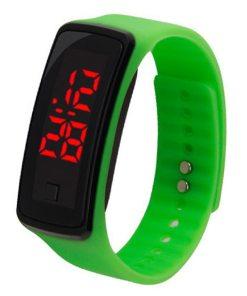 Montre LED Bracelet En Caoutchouc 2