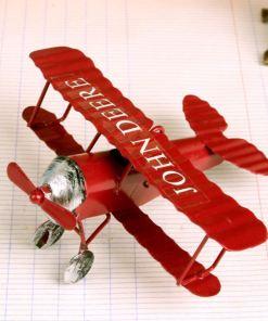 Avions Biplan Rétro Vintage Pour Décoration Intérieure Ou Cadeau 4