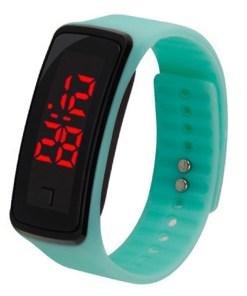 Montre LED Bracelet En Caoutchouc 5