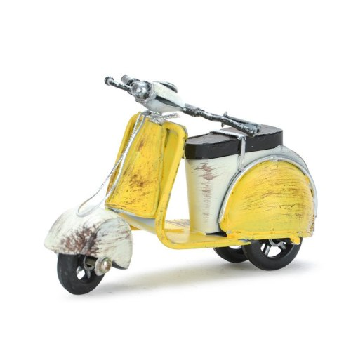 Scooter Rétro Vintage Fait Main Pour Décoration Intérieure ou Pour Cadeau 2