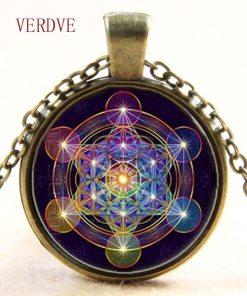 Pendentif Fleur de Vie - Chakra - Hexagramme Magique 1