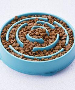 Gamelle anti-glouton pour chien ou chat 1