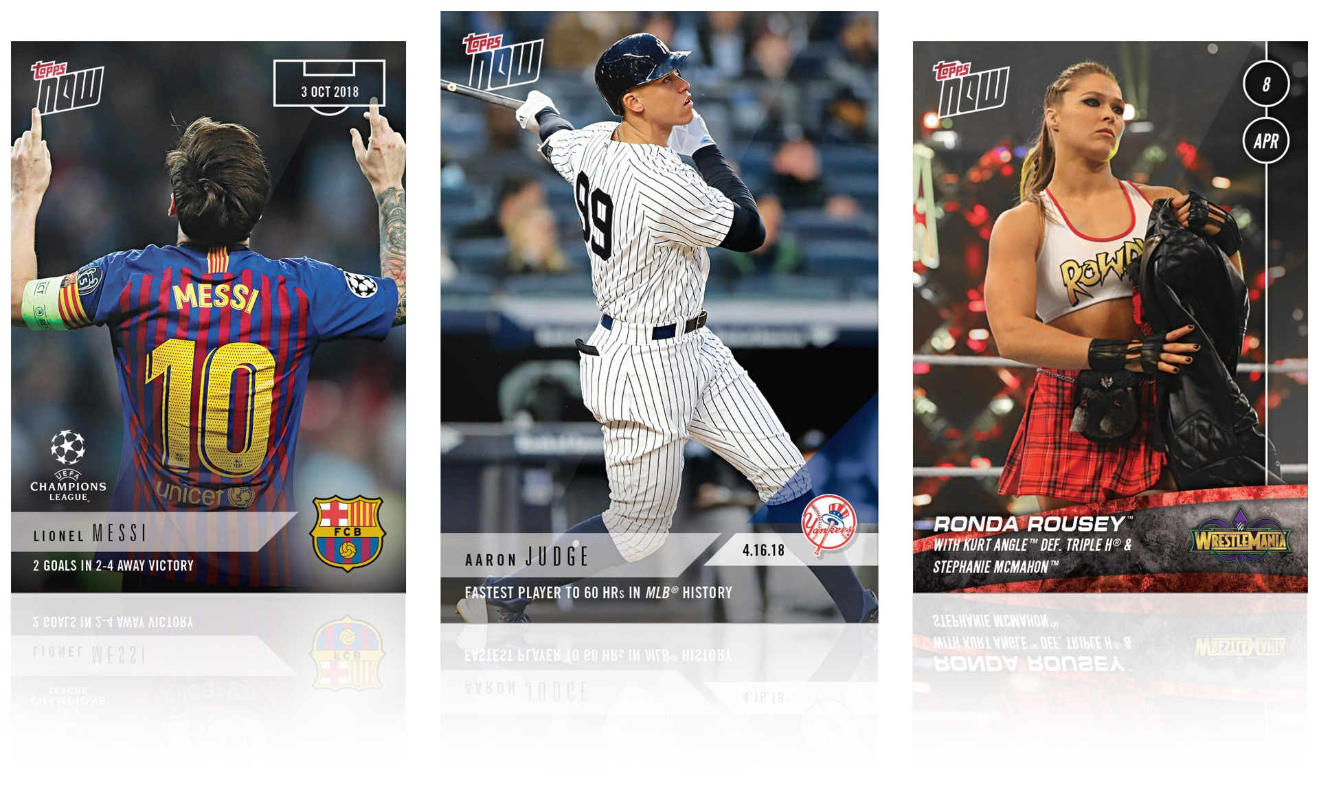 Amazon.com gift cards can be purchased in almost any amount, from $0.50 to $2,000. Topps Now