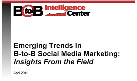 Emerging Trends in B-to-B Social Media Marketing: Insights From the Field