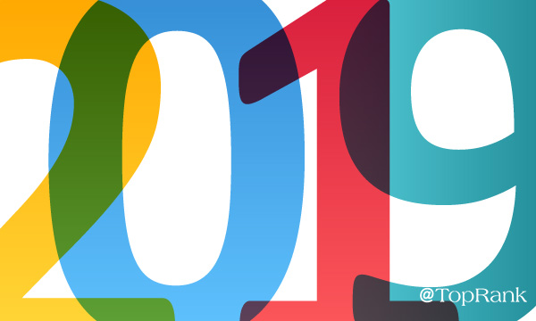 Colorful 2019 numbers image.