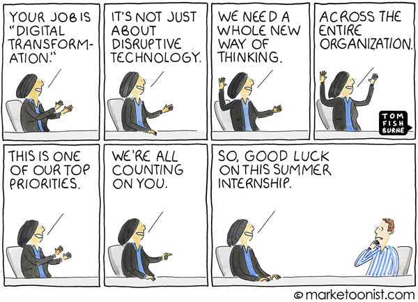 2018 September 7 Marketoonist Tom Fishburne Cartoon