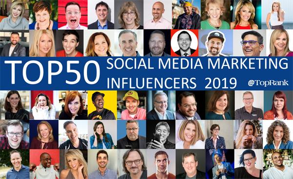 Social Media Marketing Influencers 2019