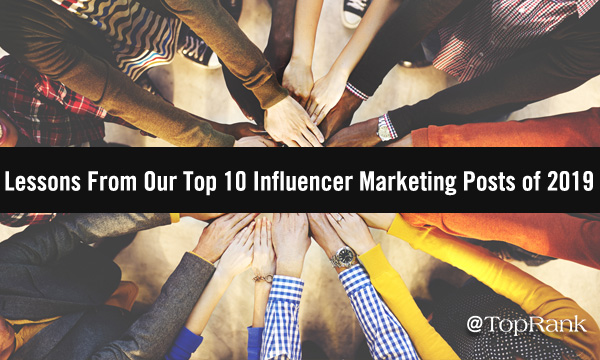 2019 Top 10 Influencer Marketing Holding Hands Image