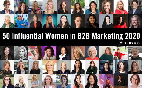 2020 Femmes influentes dans le marketing B2B