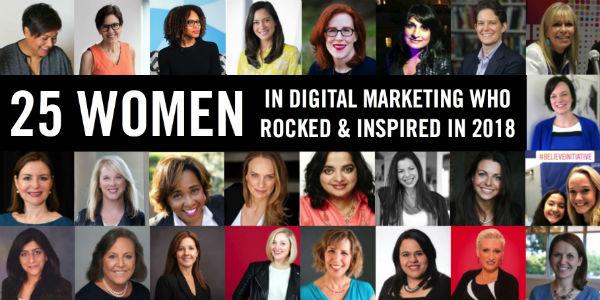 25 Women Digital Marketing