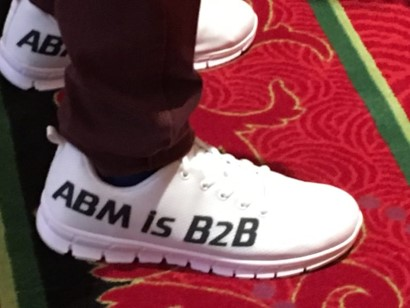 Sneakers that Read ABM Is B2B