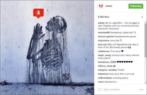 Adobe Instagram Example