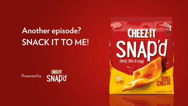 Cheez-It Ad on Hulu