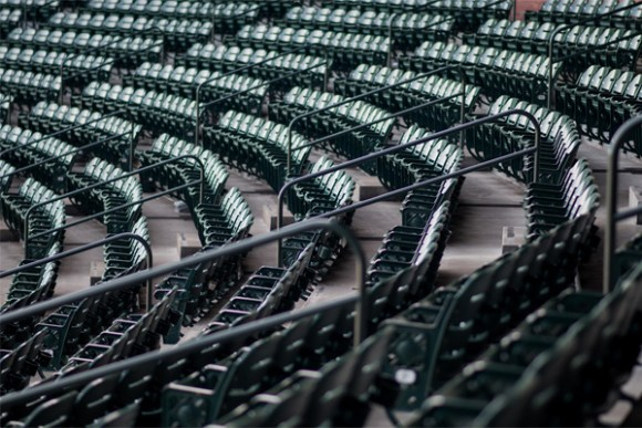 Empty Stadium Seats Image