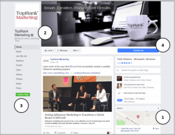 Facebook Business Page Layout Changes
