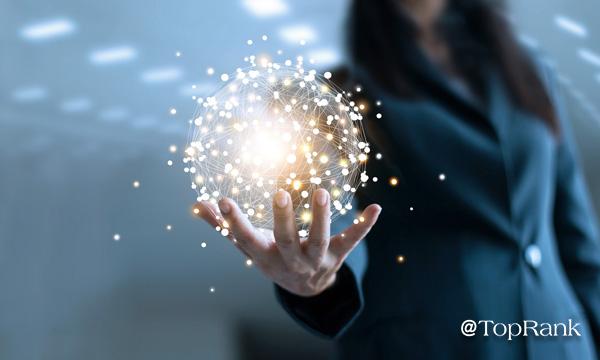Woman holding ball of energy image.
