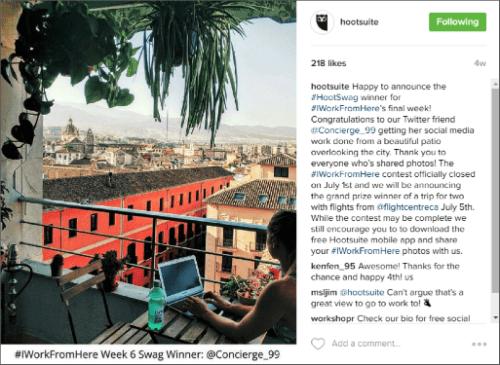 Hootsuite Instagram 1