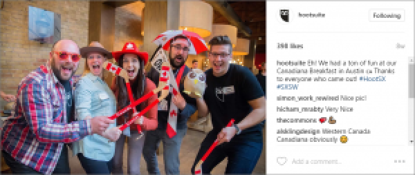 Hootsuite Company Culture on Instagram
