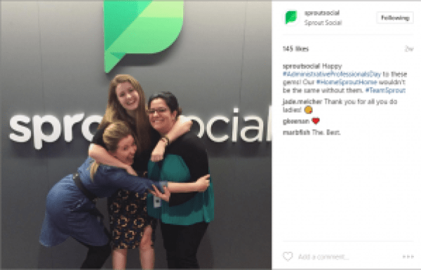 SproutSocial Company Culture on Instagram
