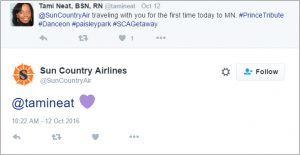Sun Country on Twitter