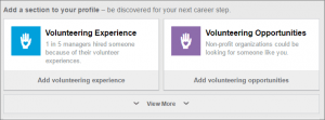 LinkedIn Other Sections
