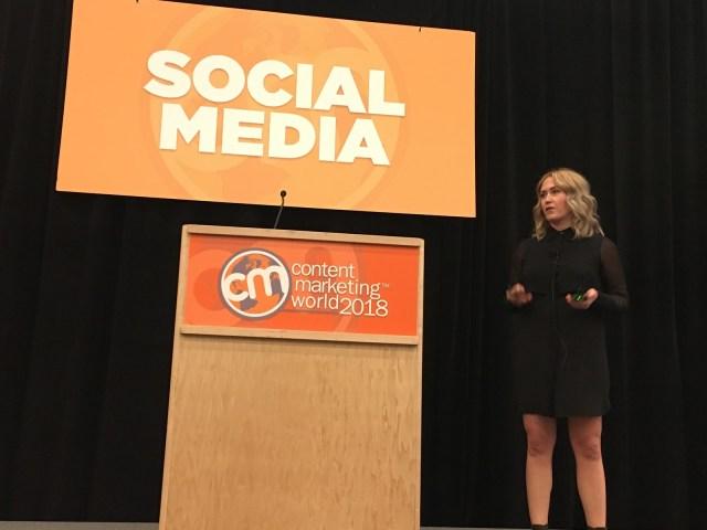 LinkedIn's Megan Golden at Content Marketing World
