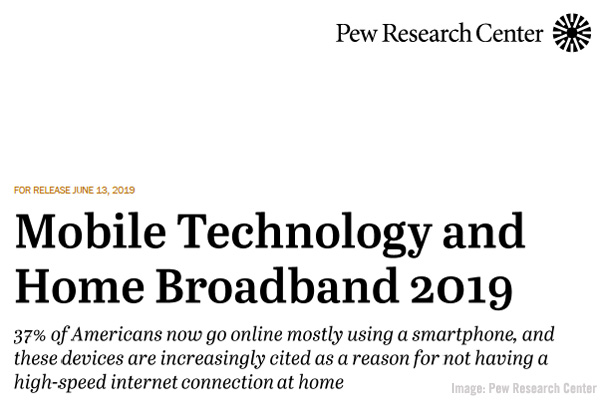 Pew Research Center Mobile Technology Image