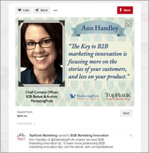 B2B Marketing on Pinterest - TopRank Marketing