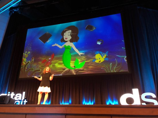 Randi Zuckerberg Presenting at Digital Summit Minneapolis
