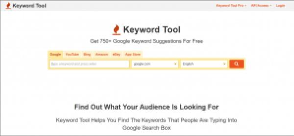 KewordTool.io for Content Marketing
