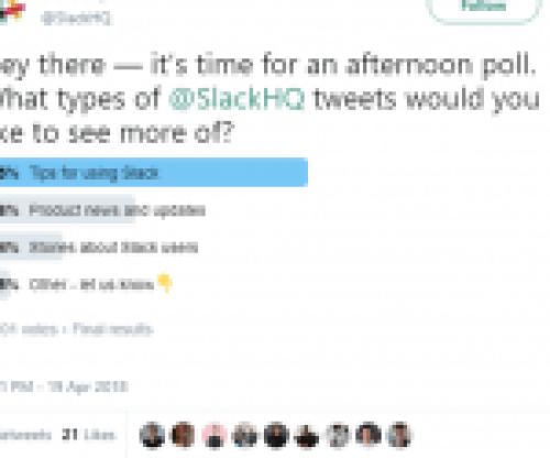 Slack Poll Example
