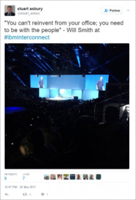 Social Media at Conferences - IBM InterConnect