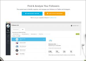 SocialRank Tool for Twitter