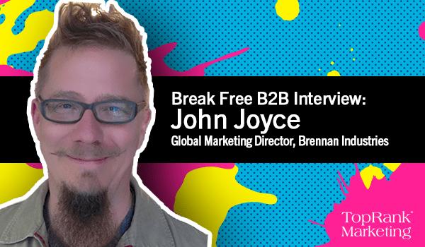 John Joyce Educates on B2B Content material 1