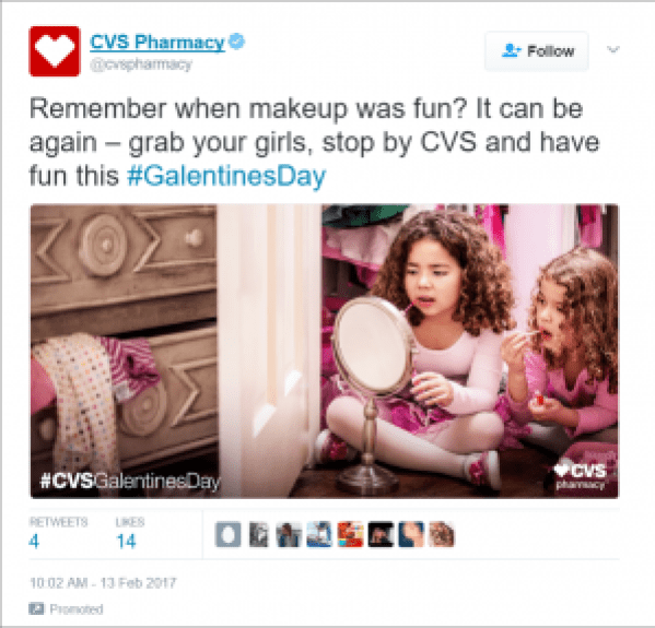 CVS Valentine's Day Marketing