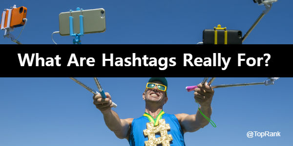 What Are Hashtags Really For?