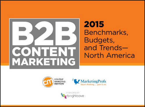 2015 B2B Content Marketing Benchmarks, Budgets and Trends - North America