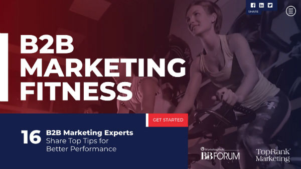 B2B Marketing Fitness Cover