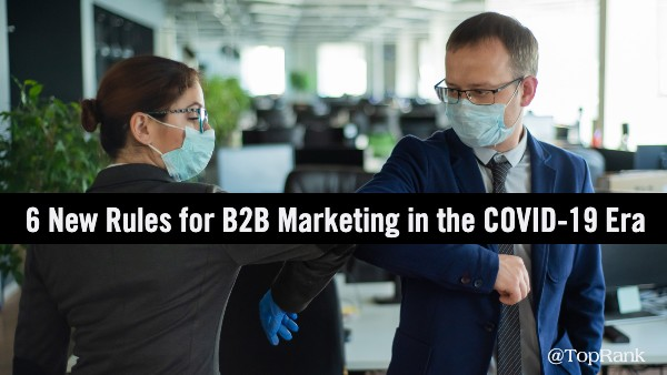 B2B Marketing Rules Covid-19
