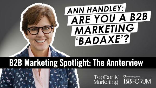 Interview Ann Handley