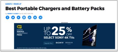Best Buy 4K TV ad