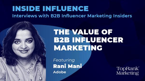 Inside Influence Rani Mani