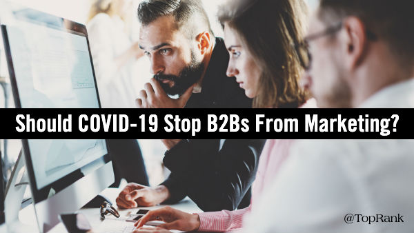 COVID-19 B2B Marketing