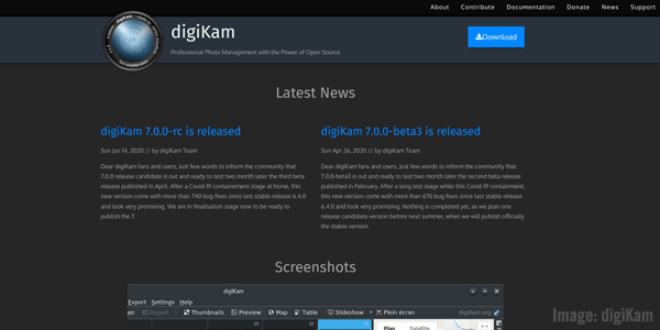 digiKam Screenshot