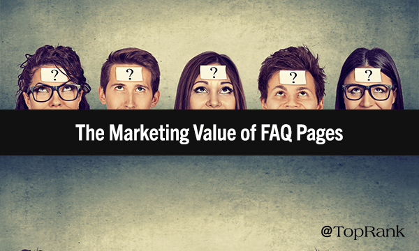 How FAQ Pages Drive Content Marketing Results