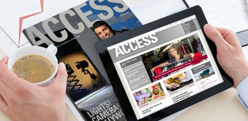 Fedex Access Mobile Magazine