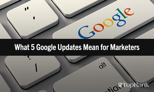 2018 Google Updates & What They Mean for Marketers
