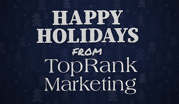 From Our Marketing Family to Yours, Happy Holidays, Marketers! 1