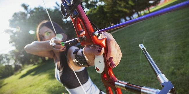Archer Taking Aim