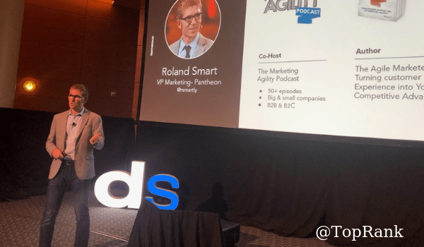 Roland Smart at Digital Summit Minneapolis